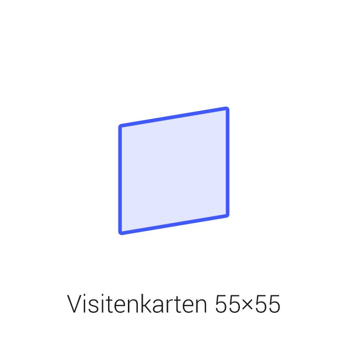 Visitenkarten 55x55