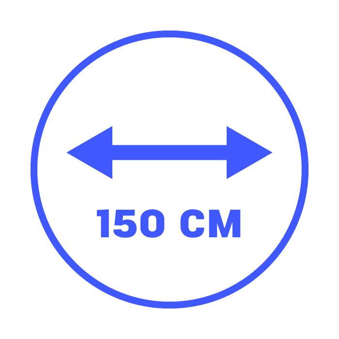 150 cm