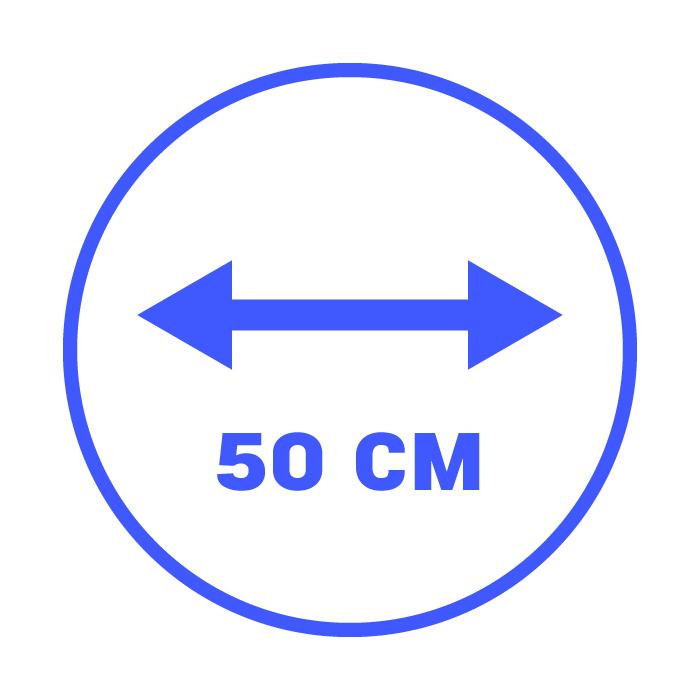 50 cm
