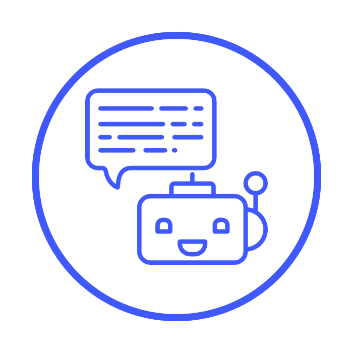 Live-Chat mit Chat-Bot