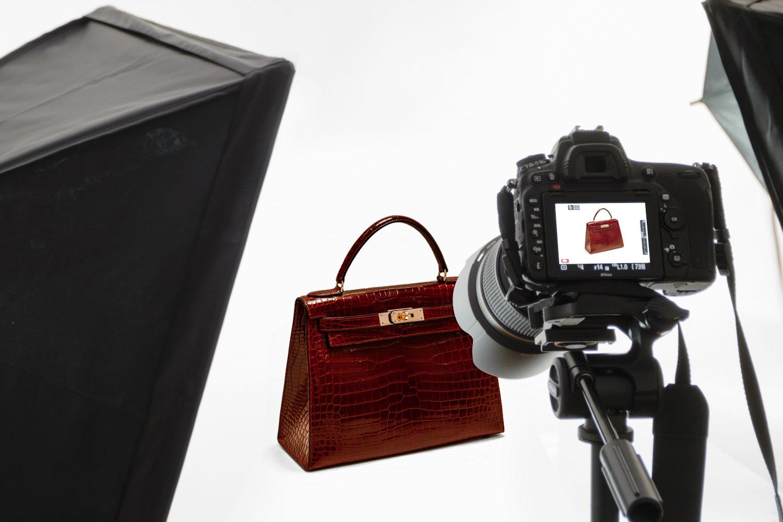 Fotoaufnahme von Handtaschen