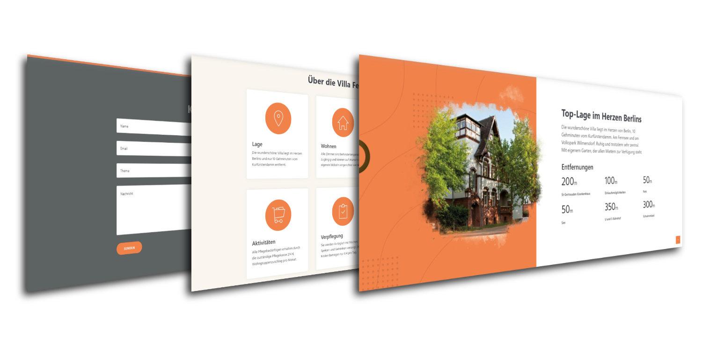 Custom graphics for website
